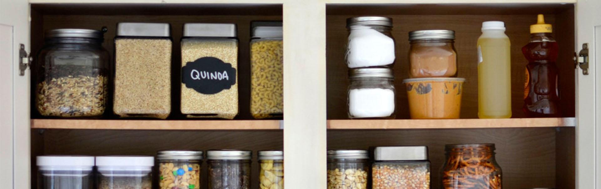 Cupboard Ingredients Powdered