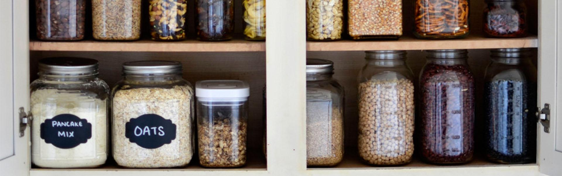 Cupboard Ingredients Nuts and Seeds