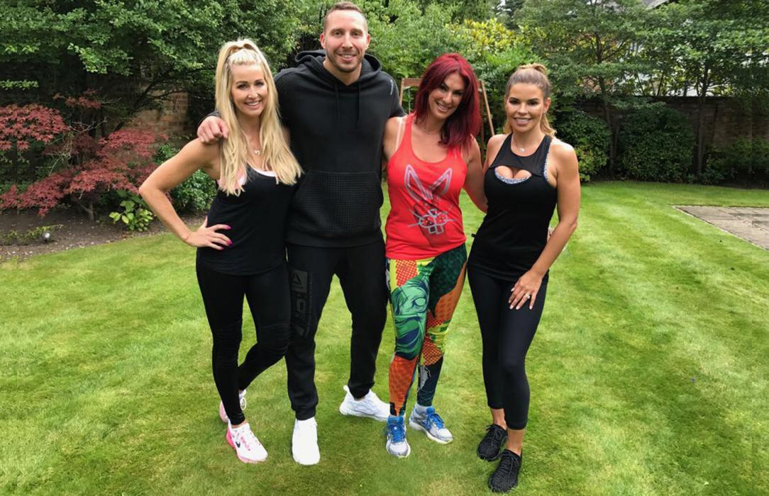 Kevin Foster-Wiltshire, Lauren Simon, Lauren Stone, Tanya Bardsley, Leanne Brown, Real Housewives of Cheshire, ITVBe, Trainer, Coach, Personal Trainer, Fitness Instructor, GymCube