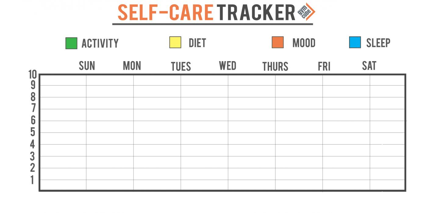 Self Care Tracker.