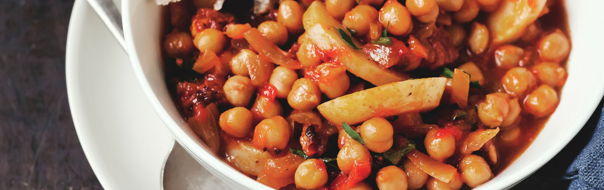 Chickpea and bean casserole