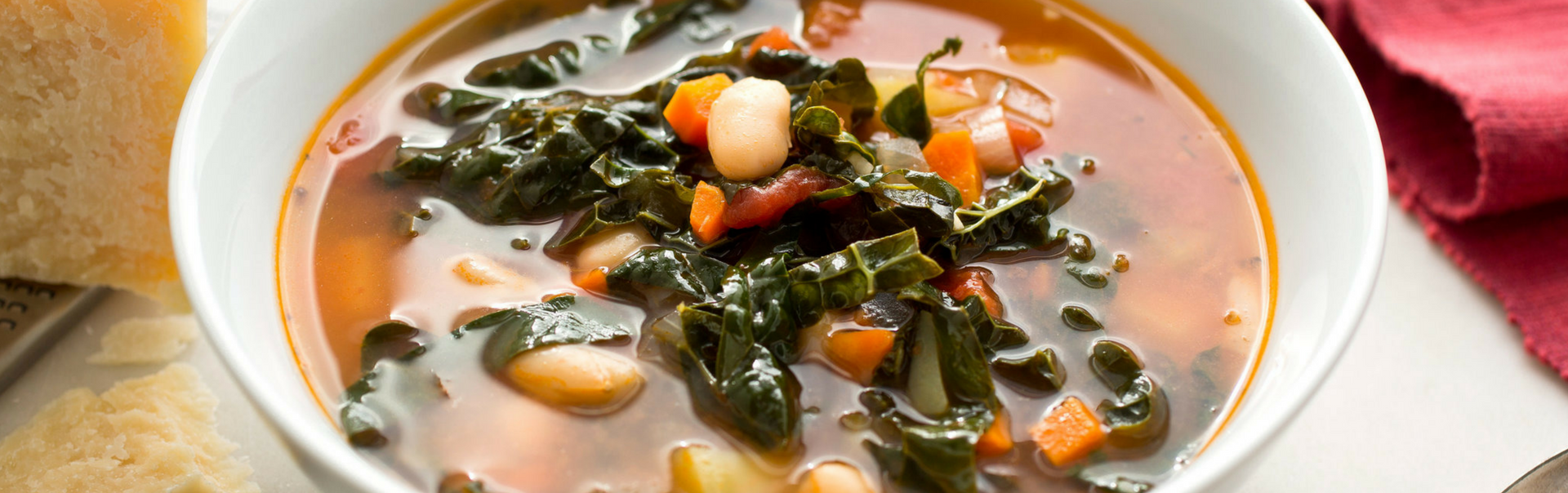 Tomato, Kale and Bean Soup