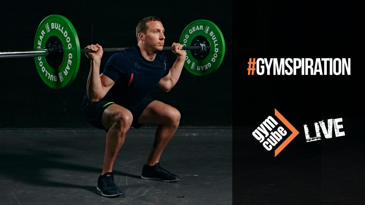 GymCube, Kevin Foster-Wiltshire, #gymspiration, Live Videos, Exercise, Workouts, Fitness, Online