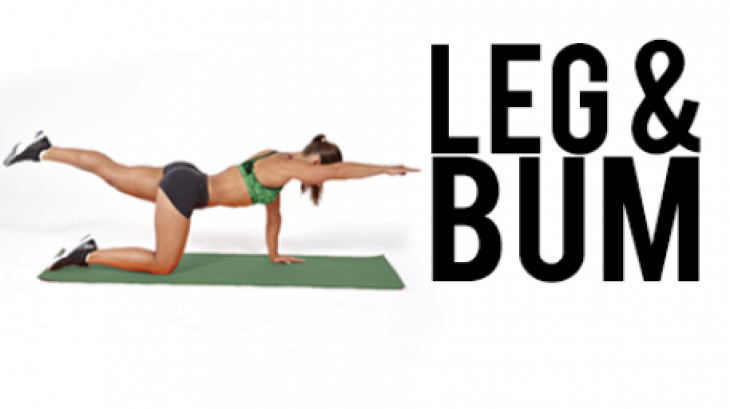 leg and bum workout