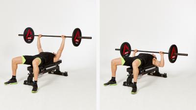 Barbell-Flat-Bench-Press
