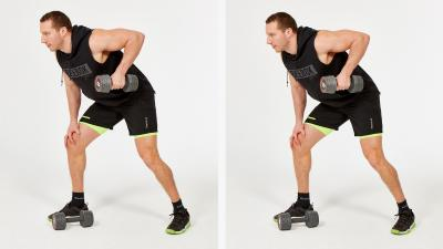 GymCube, exercise library, kevin foster-wiltshire, online fitness, workouts, videos, Bent-over-Single-Arm