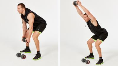 GymCube, exercise library, kevin foster-wiltshire, online fitness, workouts, videos, Bent-over-dumbbell-front-raise