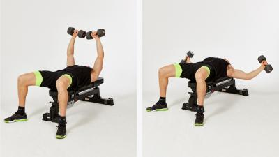 GymCube, exercise library, kevin foster-wiltshire, online fitness, workouts, videos, Dumbbell-hammer-chest-flyes