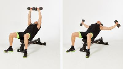 GymCube, exercise library, kevin foster-wiltshire, online fitness, workouts, videos, ncline-chest-hammer-flye