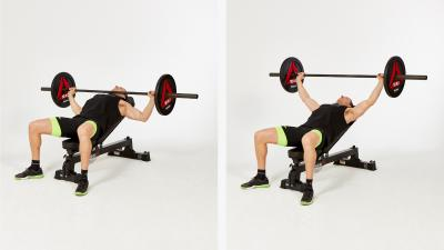 GymCube, exercise library, kevin foster-wiltshire, online fitness, workouts, videos, Incline-wide-bench-press