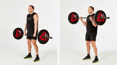 GymCube, exercise library, kevin foster-wiltshire, online fitness, workouts, videos, Reverse Grip Bicep Curl With Barbell