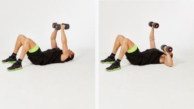 GymCube, exercise library, kevin foster-wiltshire, online fitness, workouts, videos, Single Floor press