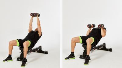GymCube, exercise library, kevin foster-wiltshire, online fitness, workouts, videos, incline-narroow-bench-press
