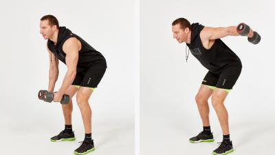 GymCube, exercise library, kevin foster-wiltshire, online fitness, workouts, videos, Bent over reverse dumbbell fly