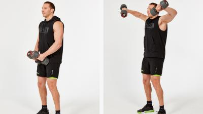 GymCube, exercise library, kevin foster-wiltshire, online fitness, workouts, videos, Lat raise