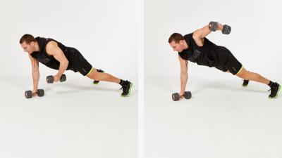 GymCube, exercise library, kevin foster-wiltshire, online fitness, workouts, videos, Plank fly