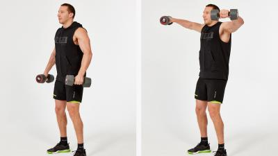 GymCube, exercise library, kevin foster-wiltshire, online fitness, workouts, videos, Side raise