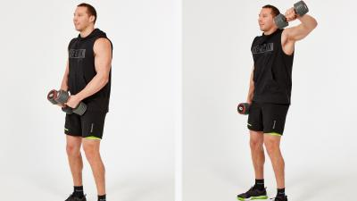 GymCube, exercise library, kevin foster-wiltshire, online fitness, workouts, videos, Single lat raise
